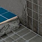 Использование сетки при укладке плитки